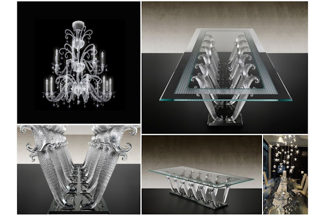 A Distinctive Fingerprint That Murano Glass Leaves On Furnishings