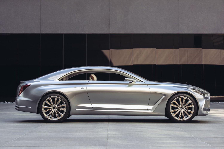 hyundai vision g coupe concept side Και η Hyundai θέλει το σκαλπ της BMW M4 Alfa Romeo Giulia QV, BMW M3, BMW M4, Hyundai, Hyundai i30, Hyundai Motor, Hyundai N, zblog