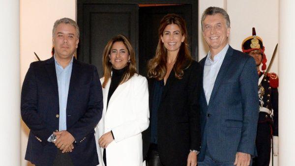 Presidente de Colombia realiza visita oficial a Argentina