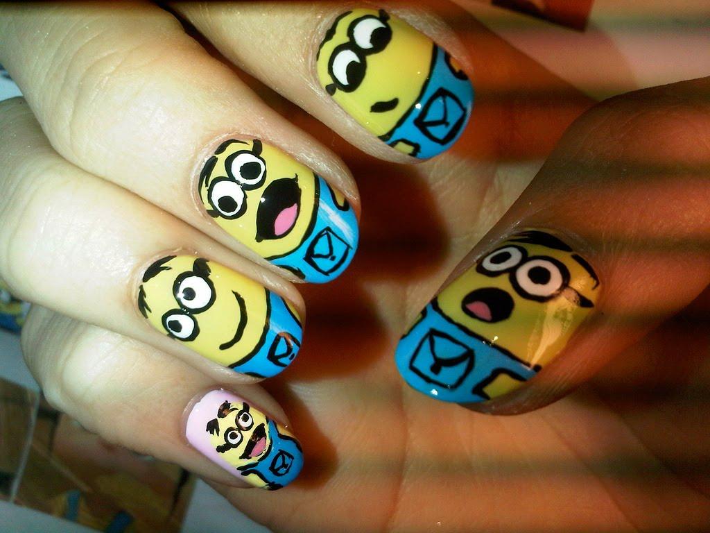 Nail art: Funny nail art