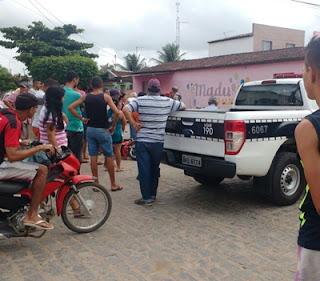 Caçamba atropela motociclista em via pública na Paraíba