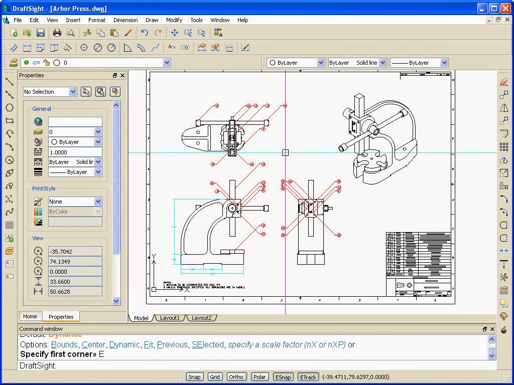 Draftsight nuevo programa de cad gratuito for Programa para dibujar en 3d