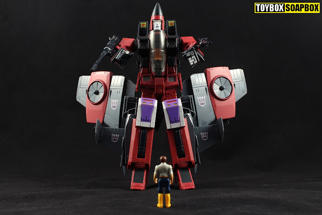 Transfomers masterpiece Thrust MP-11NT  review