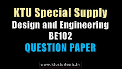 KTU Design and Engineering BE102
