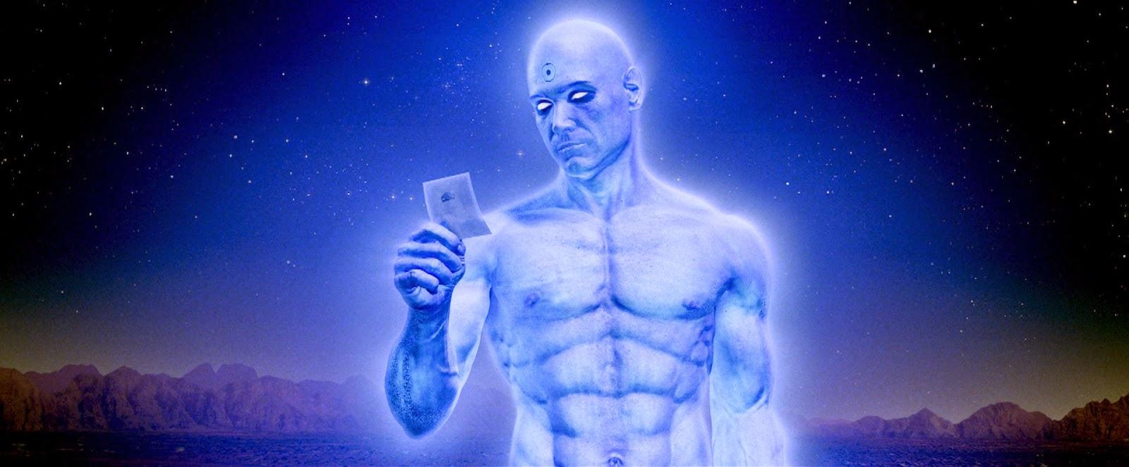 Dr Manhattan S Big Blue Penis 8