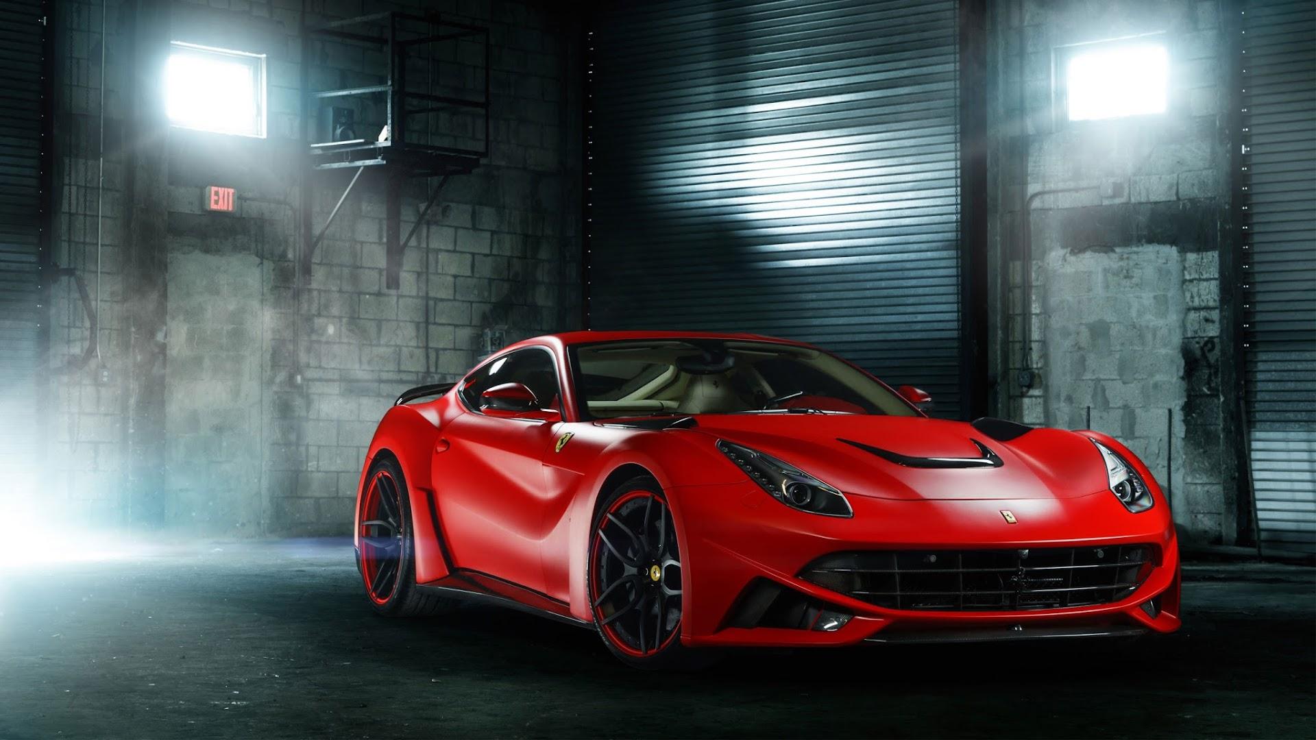 Natal Wallpaper 3d Papel De Parede Carro Esportivo Ferrari F12 Papel De