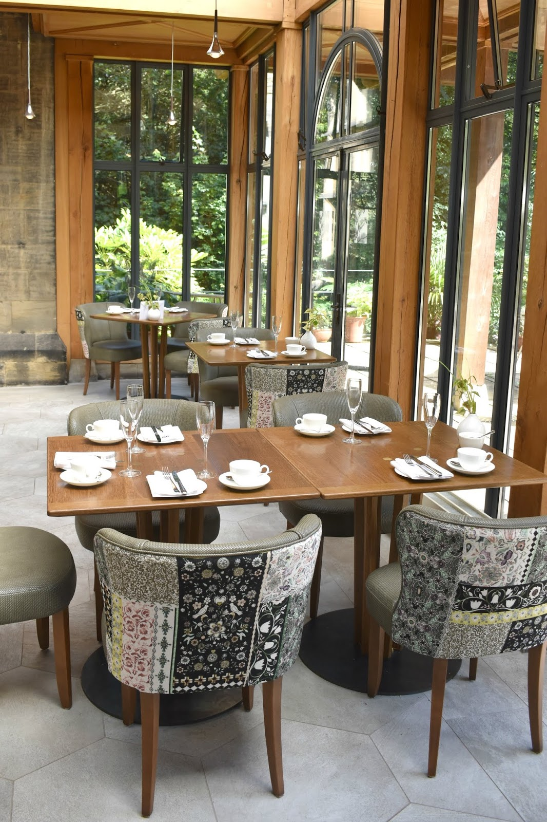 Refurbishment at Jesmond Dene House - Garden Room