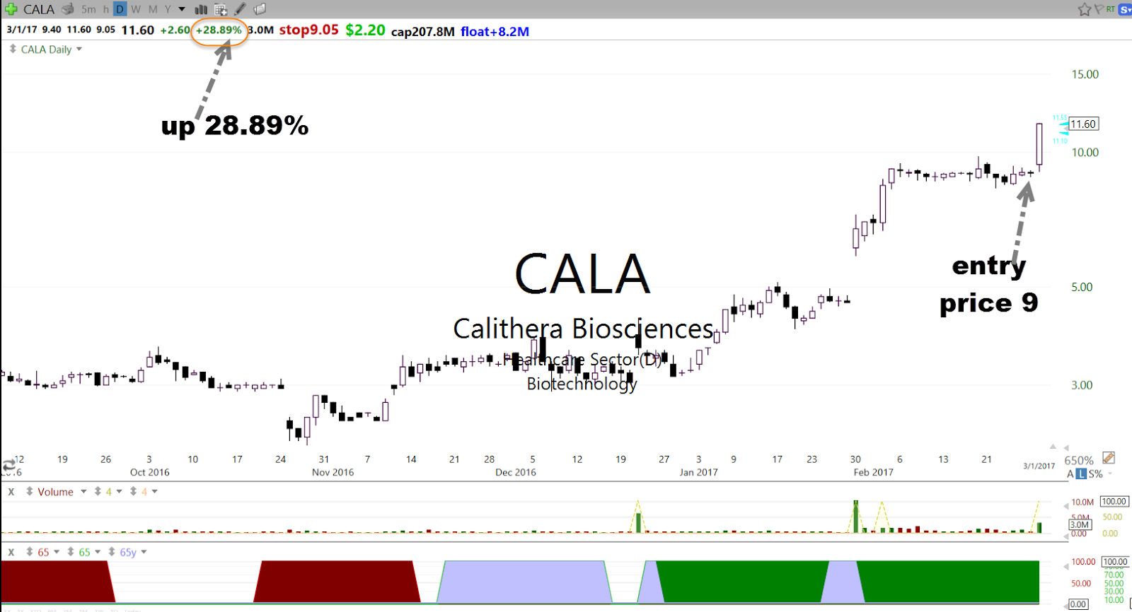 How to find stocks like cala and enter them before breakout stockbee market open as good anticipation setup as you can see the stock is up 28 in a day do you want to find stocks like these daily and enter before they ccuart Gallery