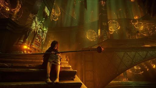 Demon's Souls Review scene on PS5
