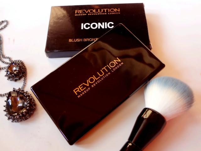 Makeup Revolution Blush, Bronze & Brighten Palette in Rave