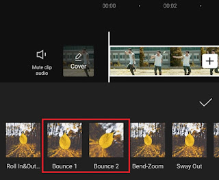 bounce video effects