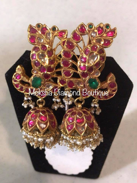 Chandbali Design Choker by Moksha Diamonds