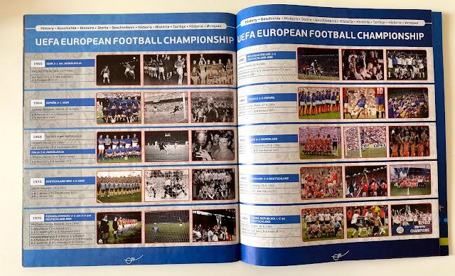 Euro 2016 Edizioni precedenti