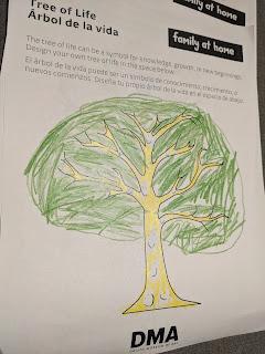 Joe mi ha riempito il cuore con il suo 'albero della vita' pieno di sorrisi.