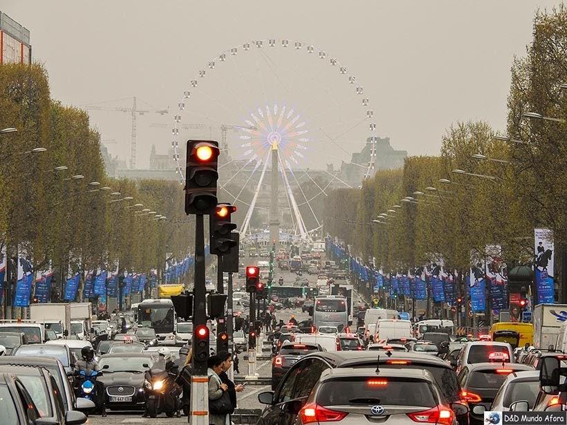 Jardim das Tulherias - O que fazer em Paris: principais pontos turísticos
