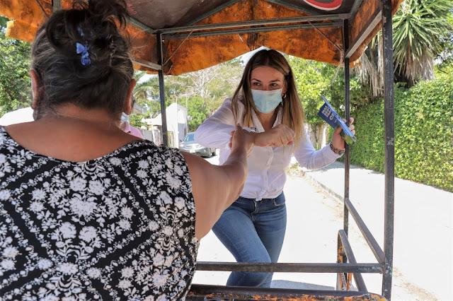 Resalta Cecilia Patrón los valores familiares de los yucatecos