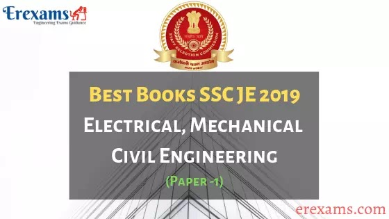 Best Books for SSC JE Pre Exam 2019 Electrical, Mechanical, Civil Engineering