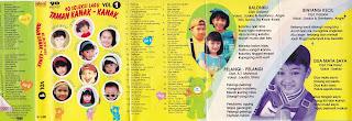 album 40 seleksi lagu taman kanak kanak vol 1 www.sampulkasetanak.blogspot.co.id
