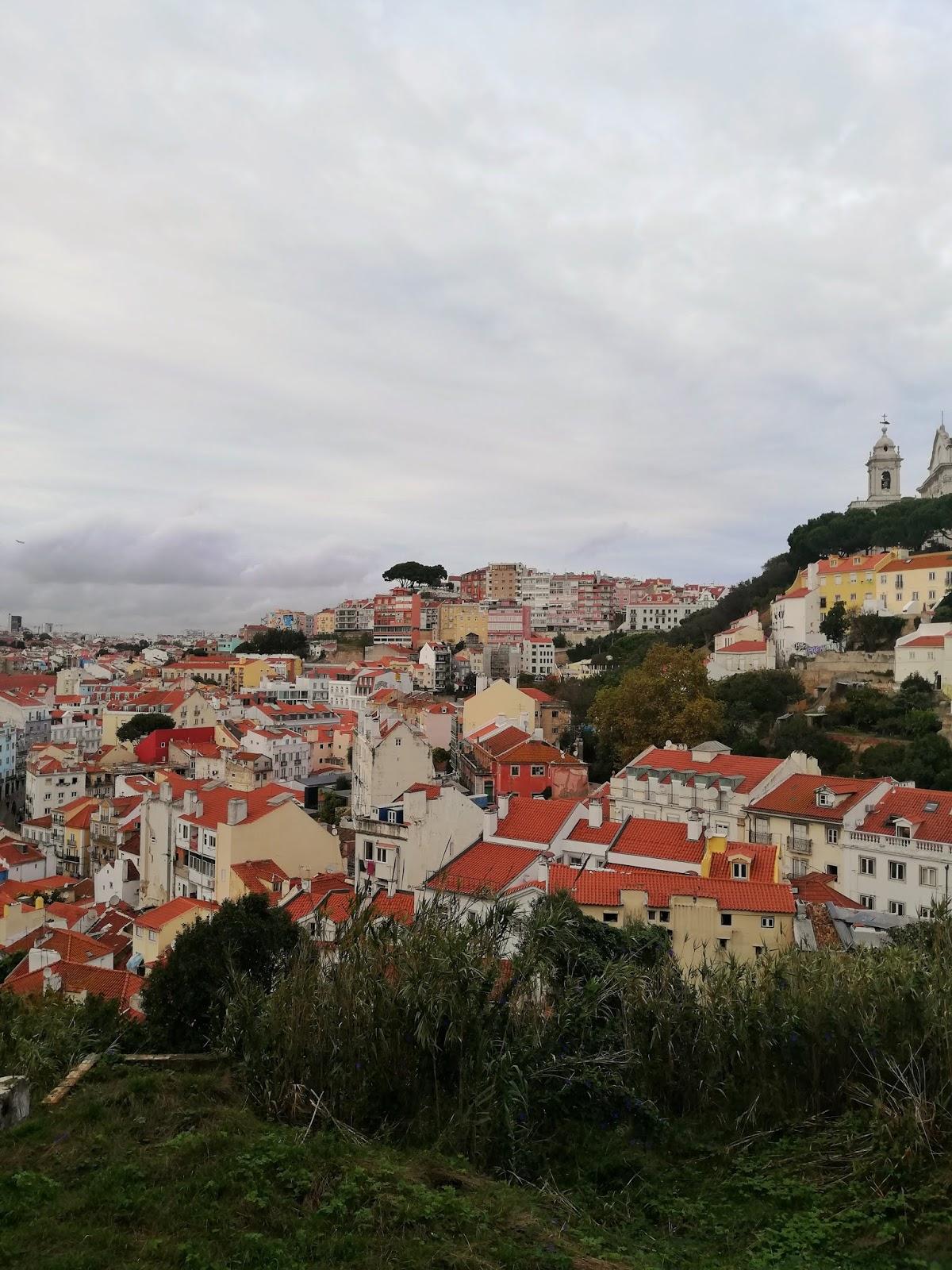 Vue Lisbonne Alfama