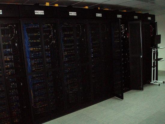 Серверы дата центра Ростелеком в Адлере