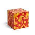 Minecraft Light-Up Lava Block ThinkGeek Item