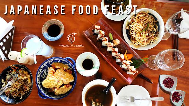JAPANESE FOOD FEAST
