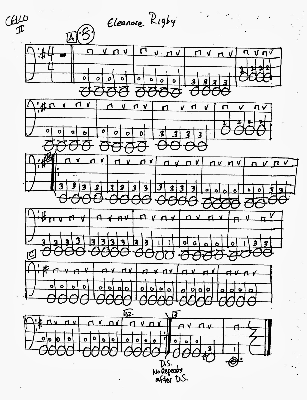 Miss Jacobson S Music Eleanor Rigby Worksheets