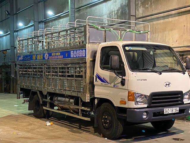 Xưởng đóng thùng xe ô tô tải