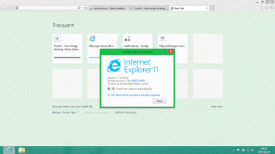 Internet Explorer 2018