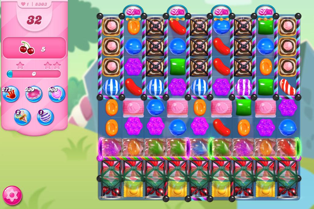 Candy Crush Saga level 8303