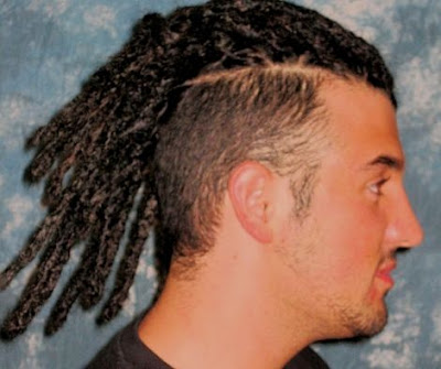 men's long hairstyle - Dreadlocks