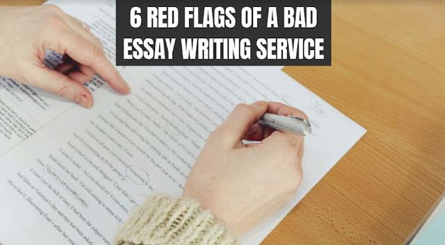 red flags bad essay writing service assignment company plagiarism
