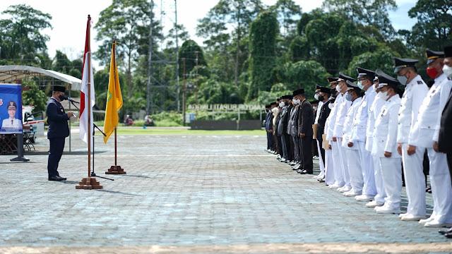 Bupati Melantik 201 Pejabat Eselon III dan IV di Lingkungan Pemkab Lingga