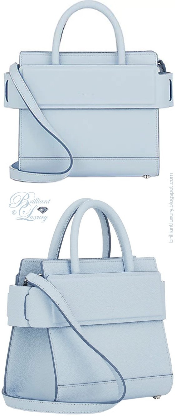 Brilliant Luxury ♦ Givenchy blue mini Horizon shoulder bag