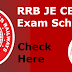 RRB JE CBT 2 2018 Dates Annouced - Check Here Railway Junior Engineer 2nd Stage Exam Schedule