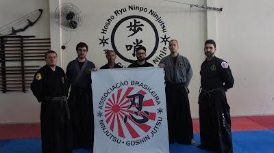 SENSEI CÍCERO MELO - HOSHO RYU NINPO - ABNG