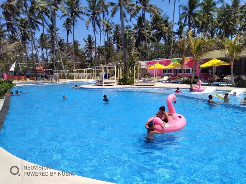 Flaminggo Beach Club', Beach Club Ramah Anak di Bali