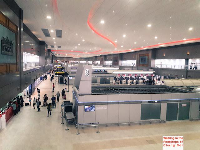Terminal 2, Don Muang Airport in Bangkok - Thailand