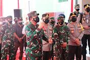 Kunjungi Puskesmas Pulowijen Malang, Panglima TNI : Kalau Badan Greges Segera Ke Puskesmas