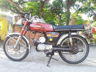 Jual Motor Jadul Pak Pos Suzuki A100
