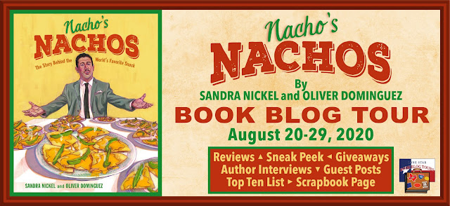 Nacho's Nachos book blog tour promotion banner