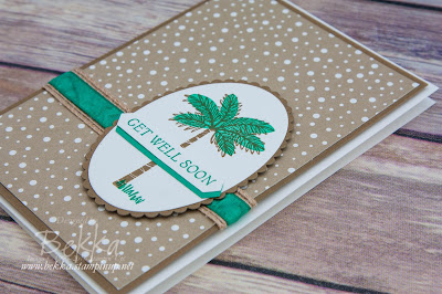 Totally Trees Get Well Soon Card made with supplies from Stampin' Up! UK which you can get here