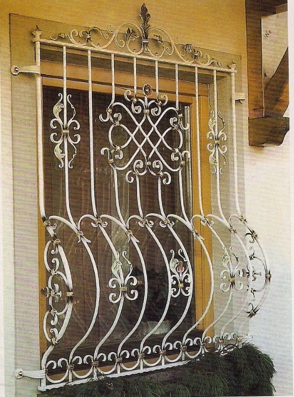 MAKE YOUR CHOICE: Window Grill Design Catalog