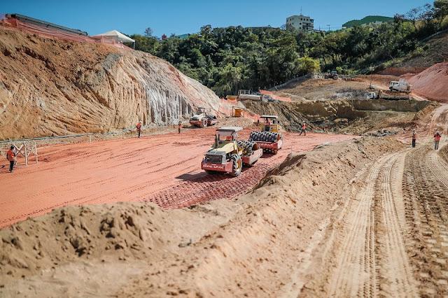 A construção da nova casa do Galo continua a todo vapor, tornando realidade o grande sonho da Massa Atleticana.