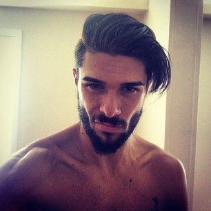 Undercut for long straight hair