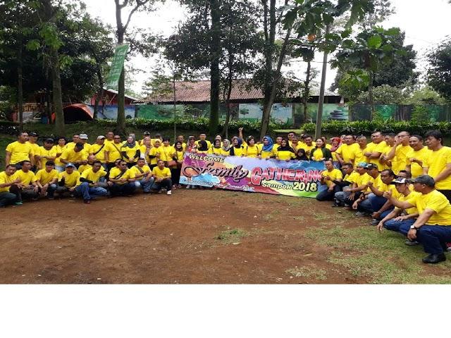 Jalin Kebersamaan, Samsat Depok Adakan Family Gathering