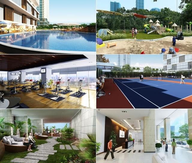 Tiện ích cao cấp tại dự án chung cư Sunshine Center 16 Phạm Hùng