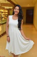 Daksha Nagarkar Cute Beauty in Sleeveless White Dress at Khwaaish Exhibition Launch 2017 ~  Exclusive 041.JPG