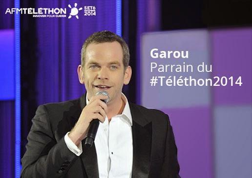 Téléthon 2014: Garou