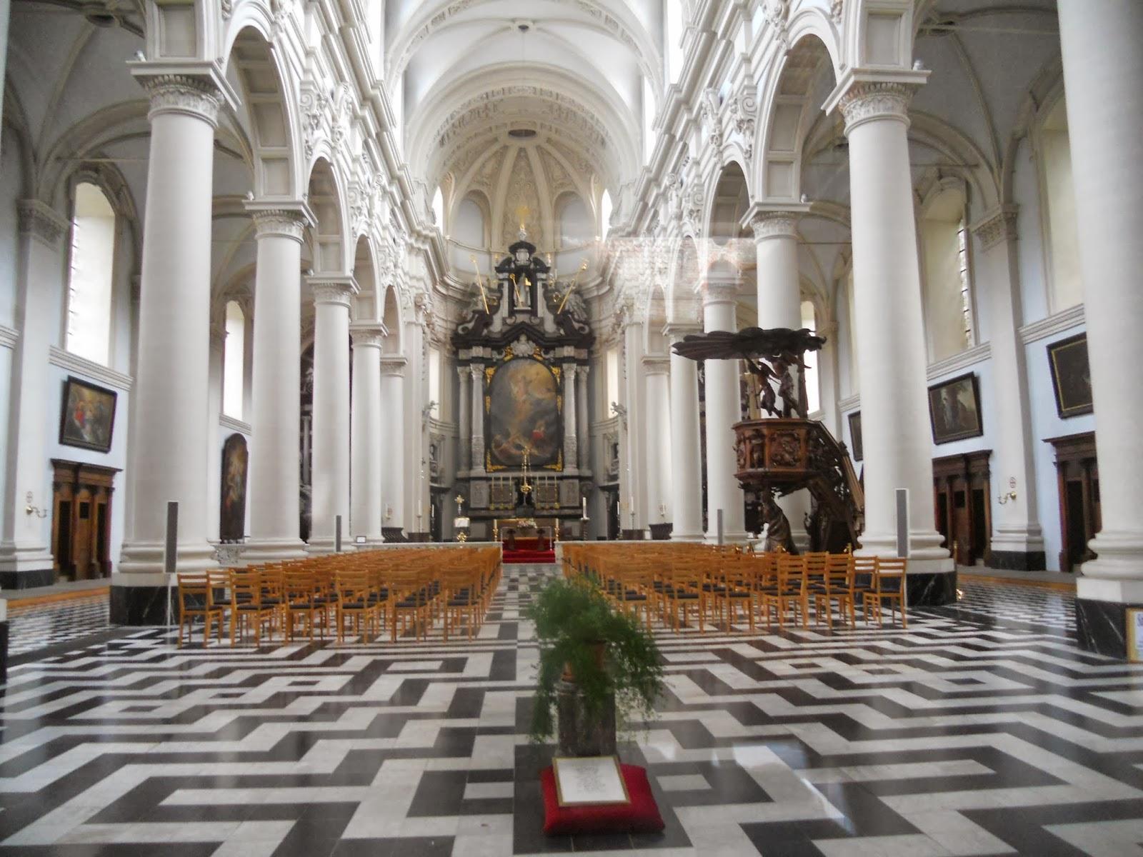 Historia y Genealogía: Iglesias de Brujas. Bélgica